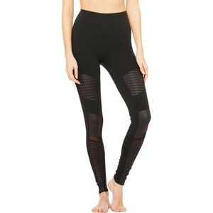 High Waist Moto Leggings || Alo yoga
